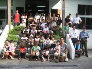 夏休み森林教室&ネイチャークラフト6